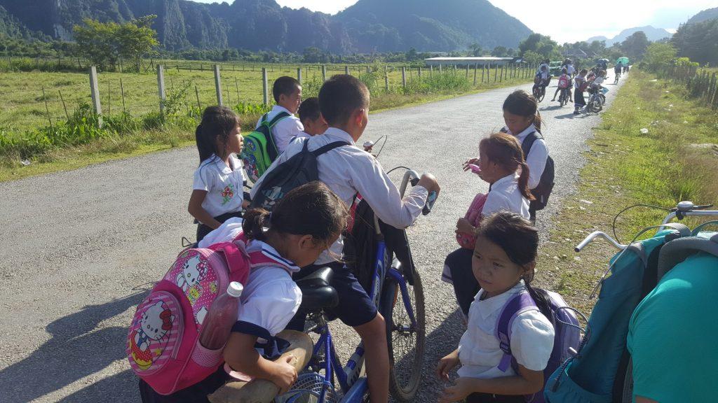 'Ambushed' by School Kids