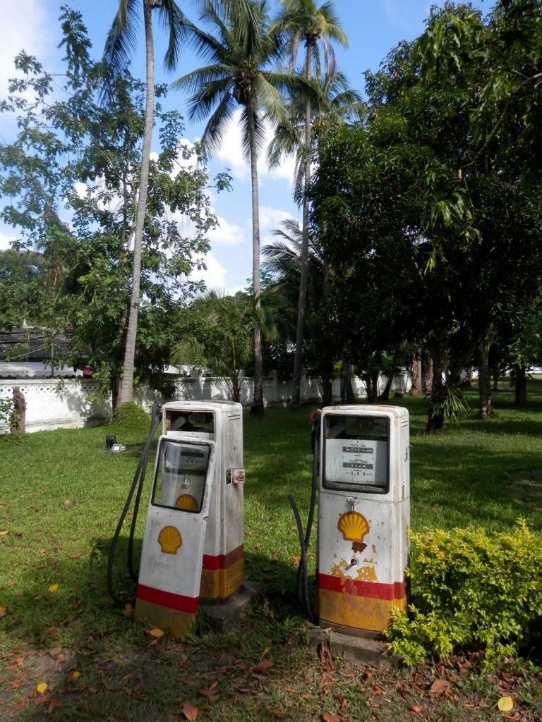 Petrol Station at the Royal Palace